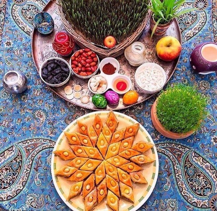 Azerbaijan Food Crafts Nowruz Table Food