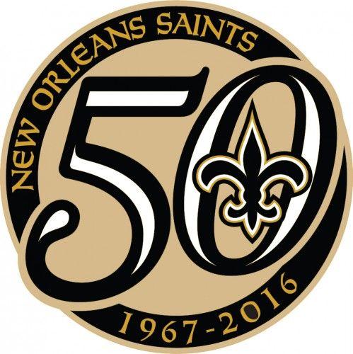 new style c57b9 3a5af Saints 50th Logo Lapel Pin | Saints Lapel Pins | New Orleans ...