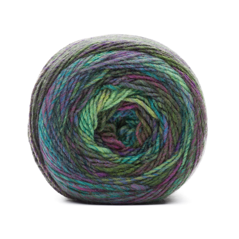 Red Heart Yarn Roll With It Melange-tabloid