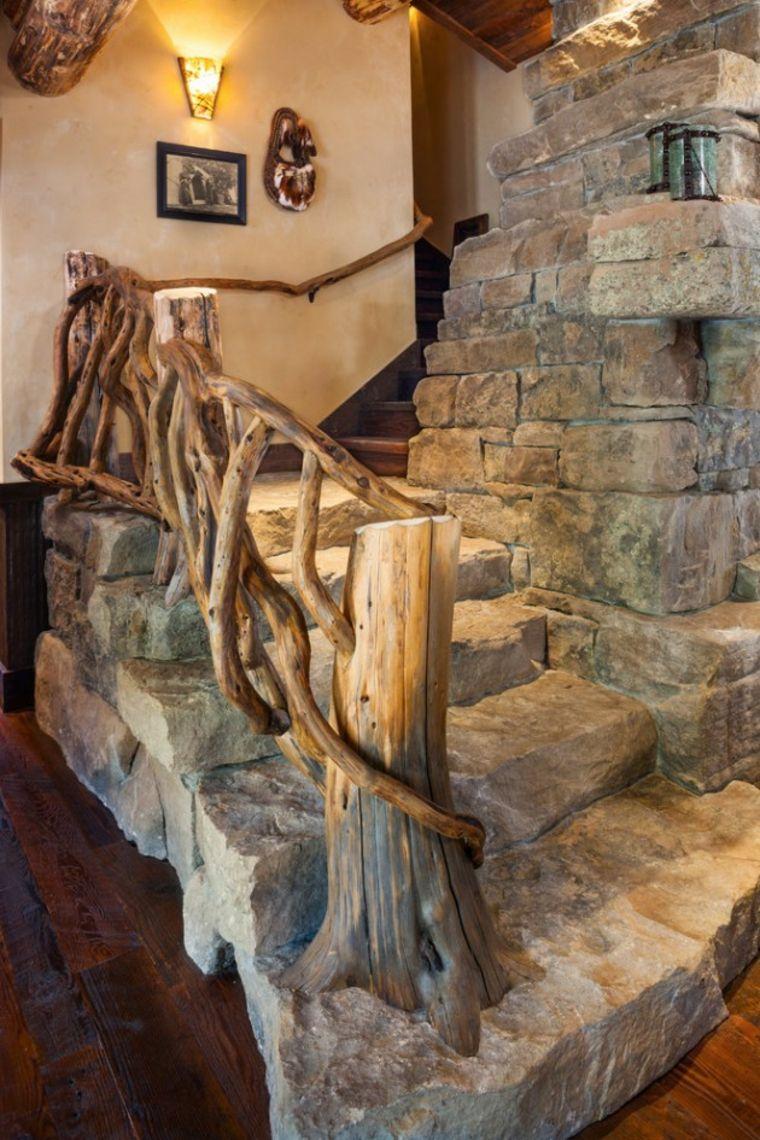 Escaleras R 250 Sticas De Piedra Y Madera M 225 S De 35 Dise 241 Os