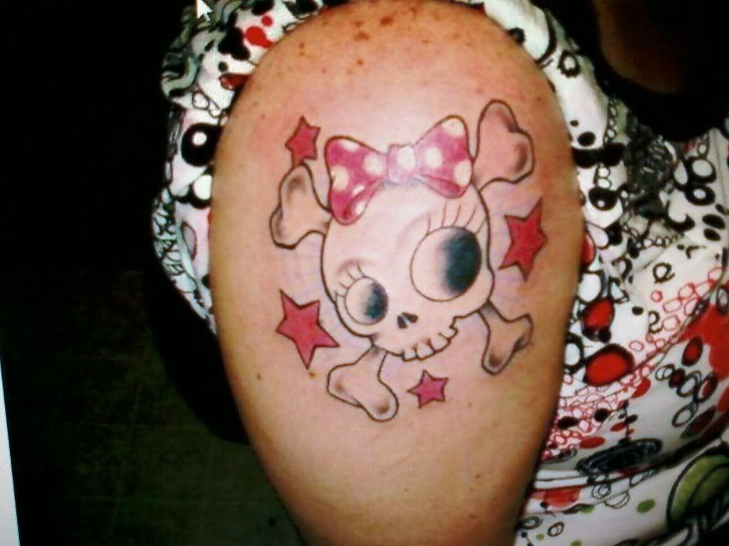 skull tattoo Cute