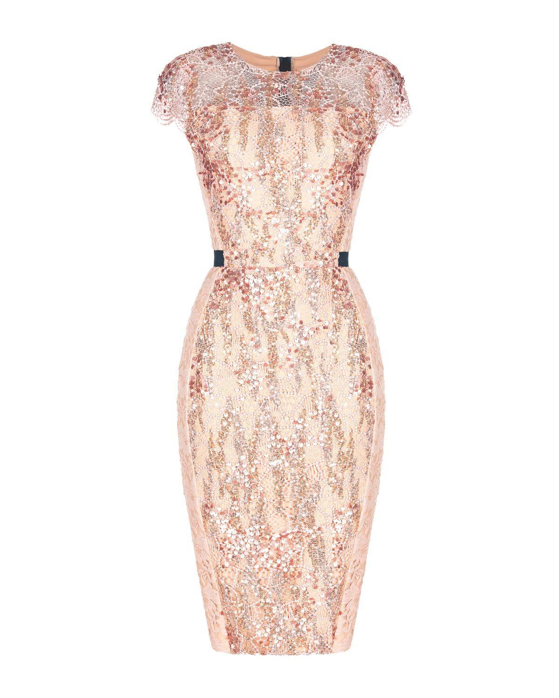 77d68735f85f Sjajna puder koktel haljina