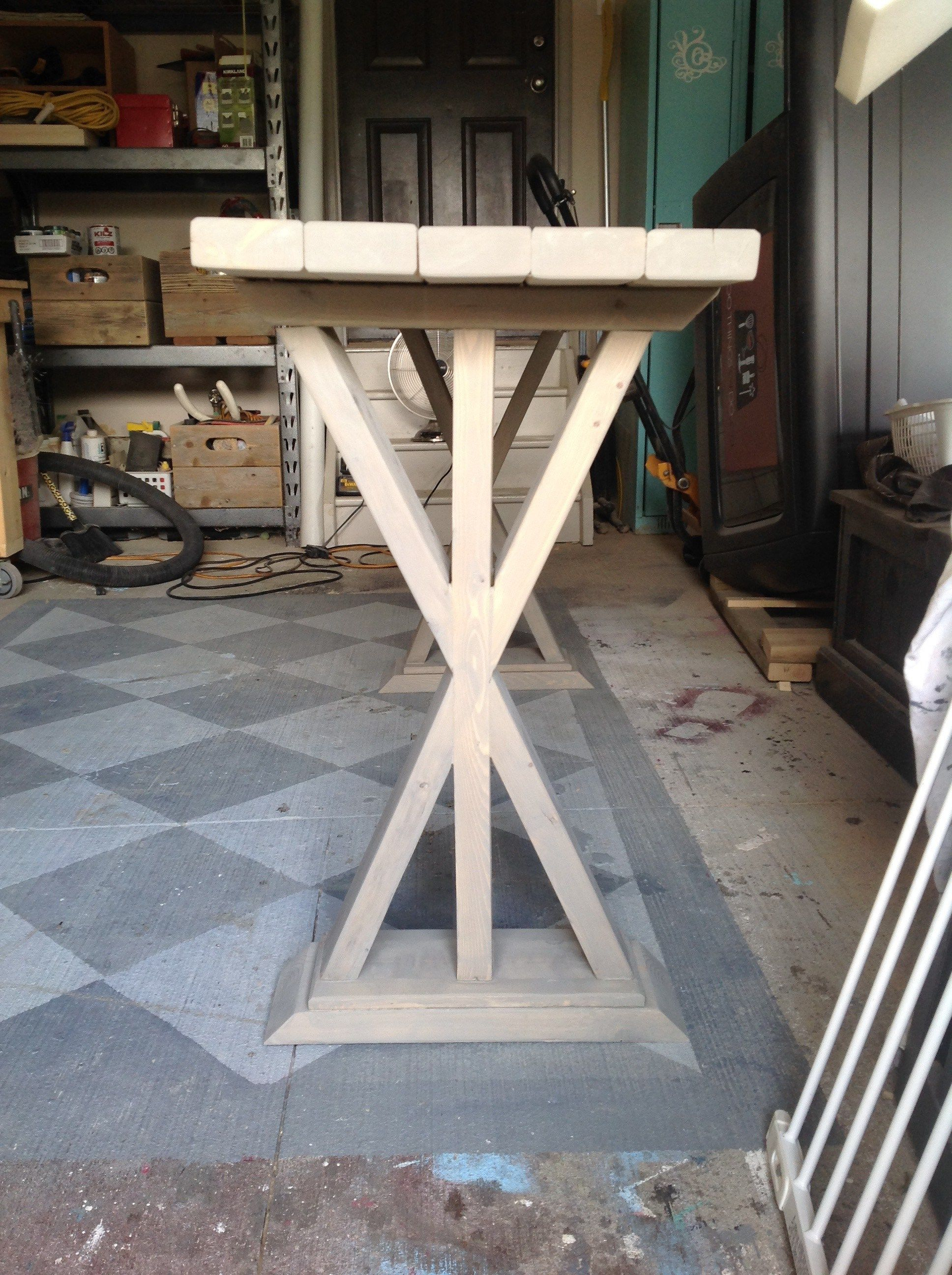 Diy Entryway Table Sofa Table Diy Entryway Table Diy