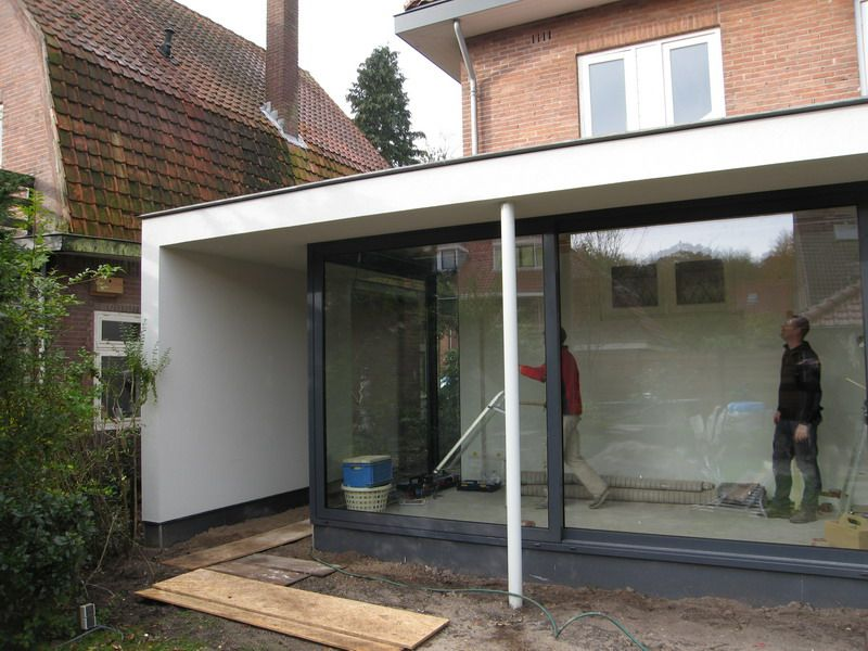 Afdakje doorgang uitbreiding pinterest search - Uitbreiding huis glas ...