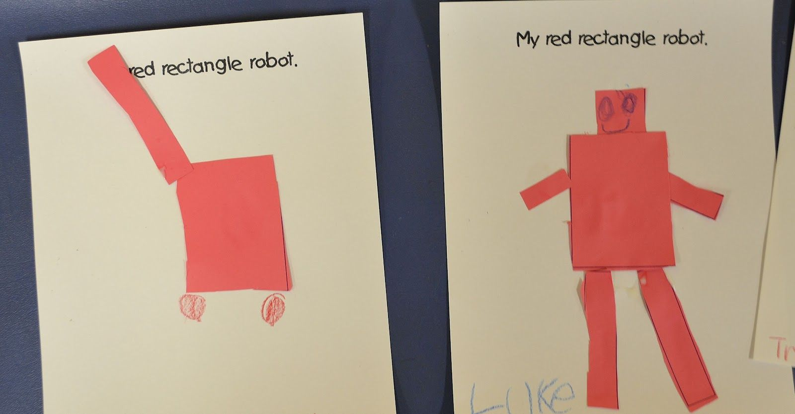 R Is For Rectangle Preschool Crafts