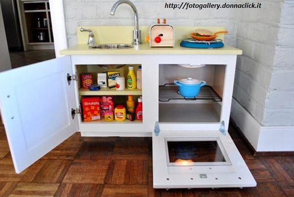 Come costruire una cucina in legno per bambini | idee regalo Natale ...