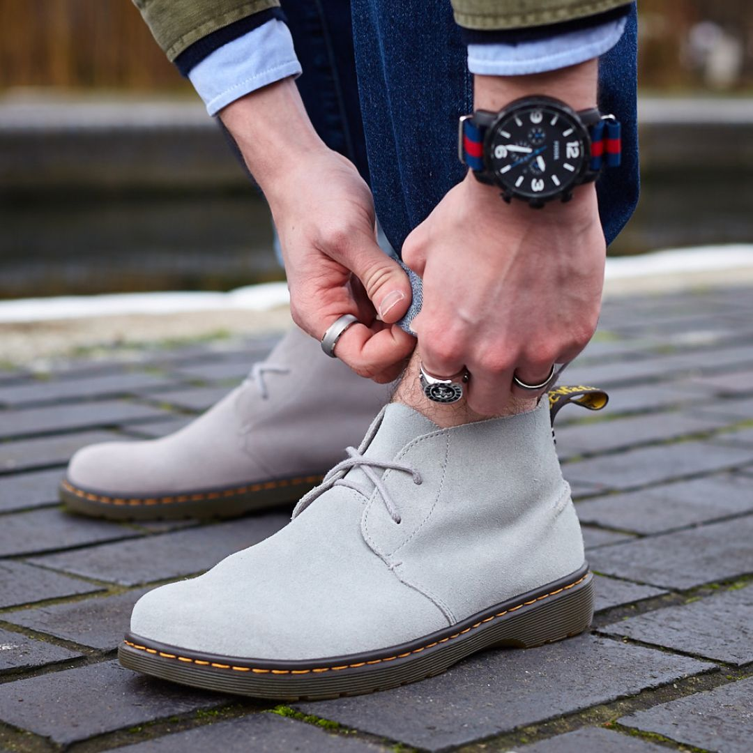 3f6b2541615 Keeping it casual. The Ember suede desert boot. | Shoes | Shoes ...