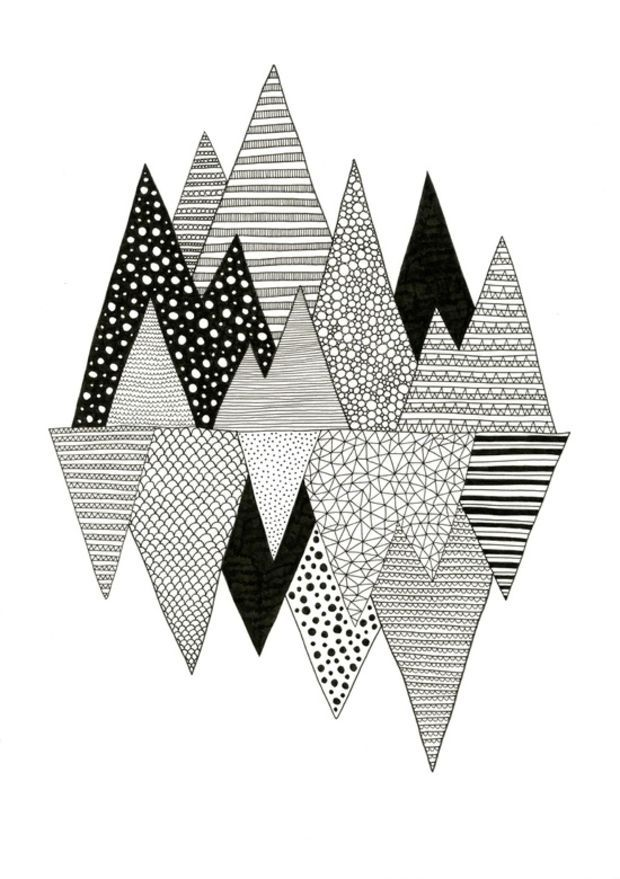 Lost in Mountains Art Print by Anita Ivancenko