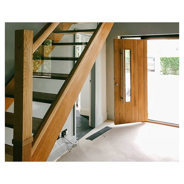 Best A Fine Example Of A Bespoke Oak And Glass Staircase We 400 x 300