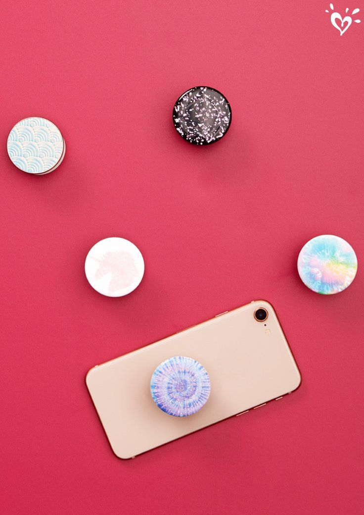 Help her keep a grip on her tech with too cool Popsockets