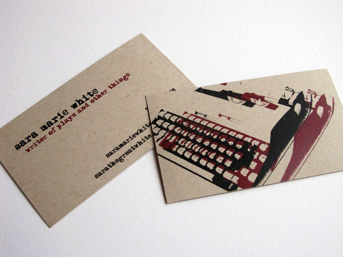 Writer business cards unlimitedgamers author business card google search brand identity design colourmoves