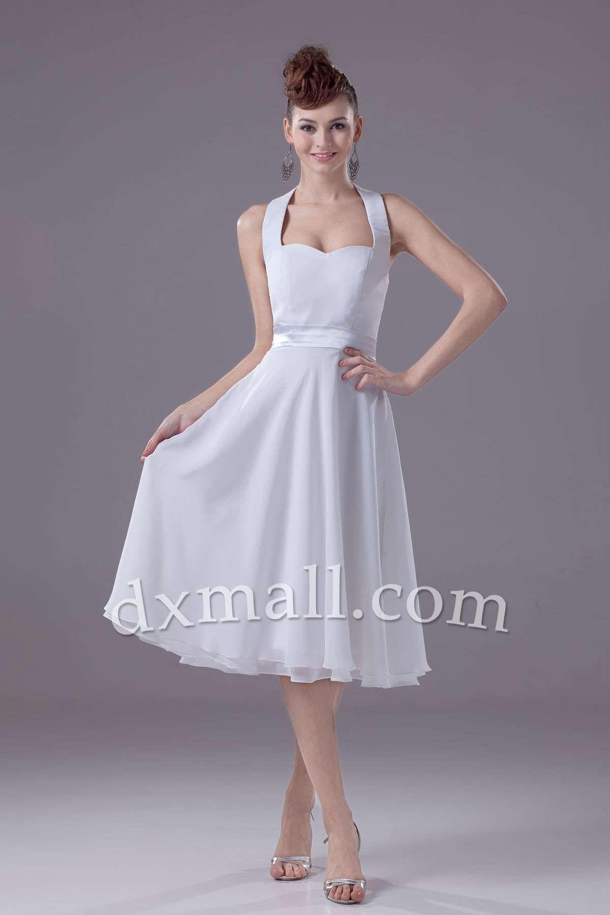 Short graduation dresses straps knee length chiffon white short graduation dresses straps knee length chiffon white 10001060002 ombrellifo Choice Image