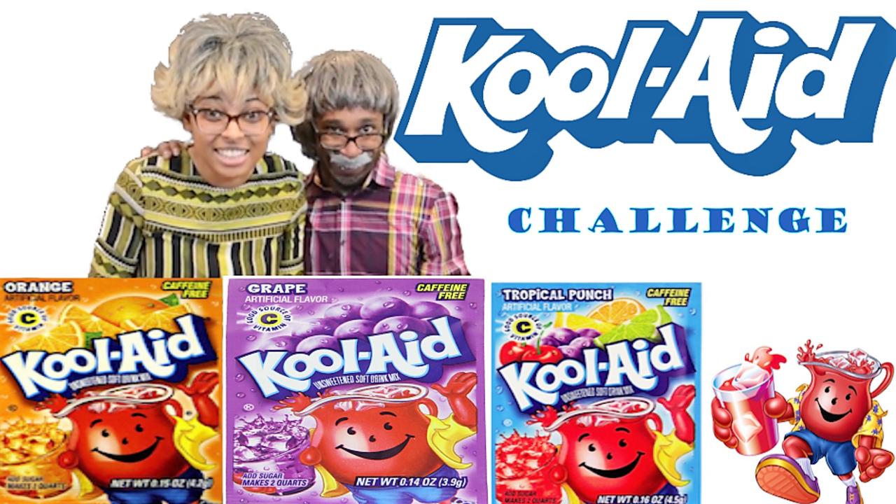 Hilarious Kool Aid Packet Challenge Mix Match Koolaid Flavors Vlog Nowandlaters Kool Aid Packets Funny Gif Kool Aid