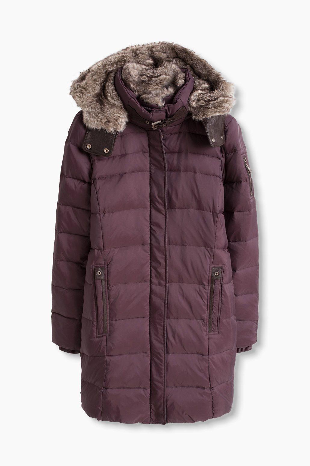 Esprit / Feminine down coat | Coats | Pinterest | Feminine, Coats ...