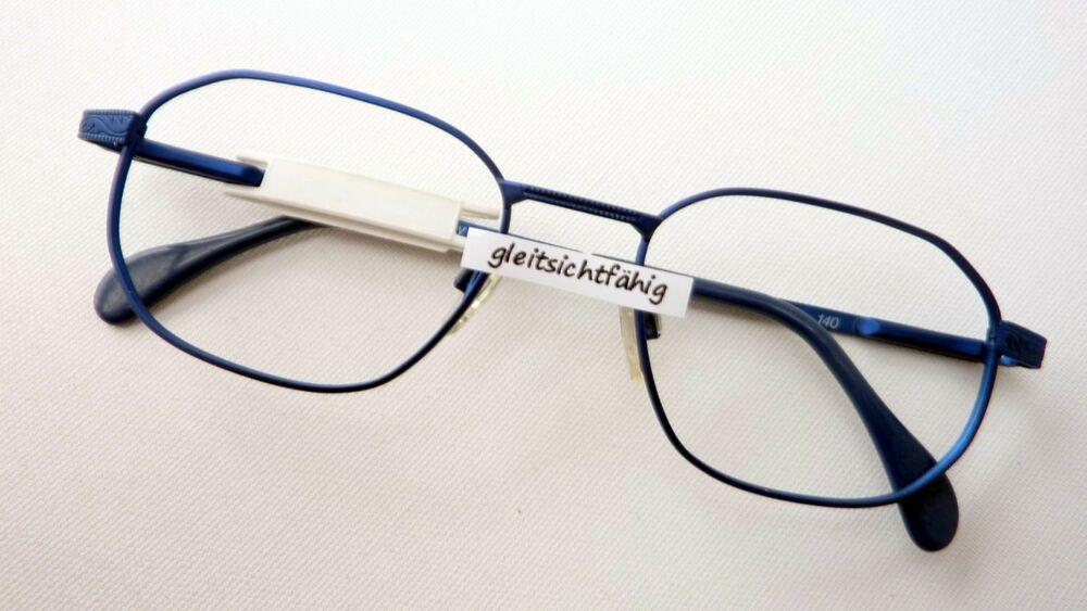schöne Schuhe noch eine Chance am billigsten Fassung Brille Brillengestell knallig Blau stabil Damen ...