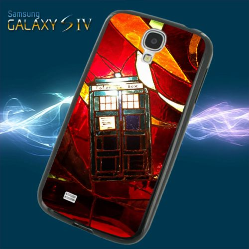 Doctor Who Red Glass For Samsung Galaxy S4 Cases | beatcase - Accessories on ArtFire