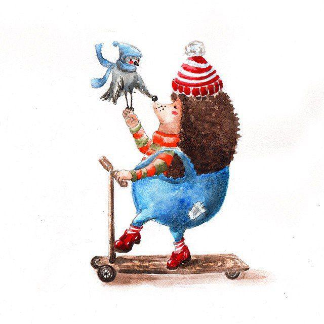 Иллюстрации художников, автор Мария Ступак   Иллюстрации ...
