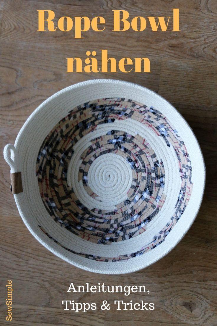 Photo of Rope Bowl nähen: Anleitungen & Tipps für den perfekten Seilkorb