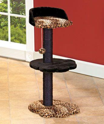 3-Tier Animal Print Cat Lofts