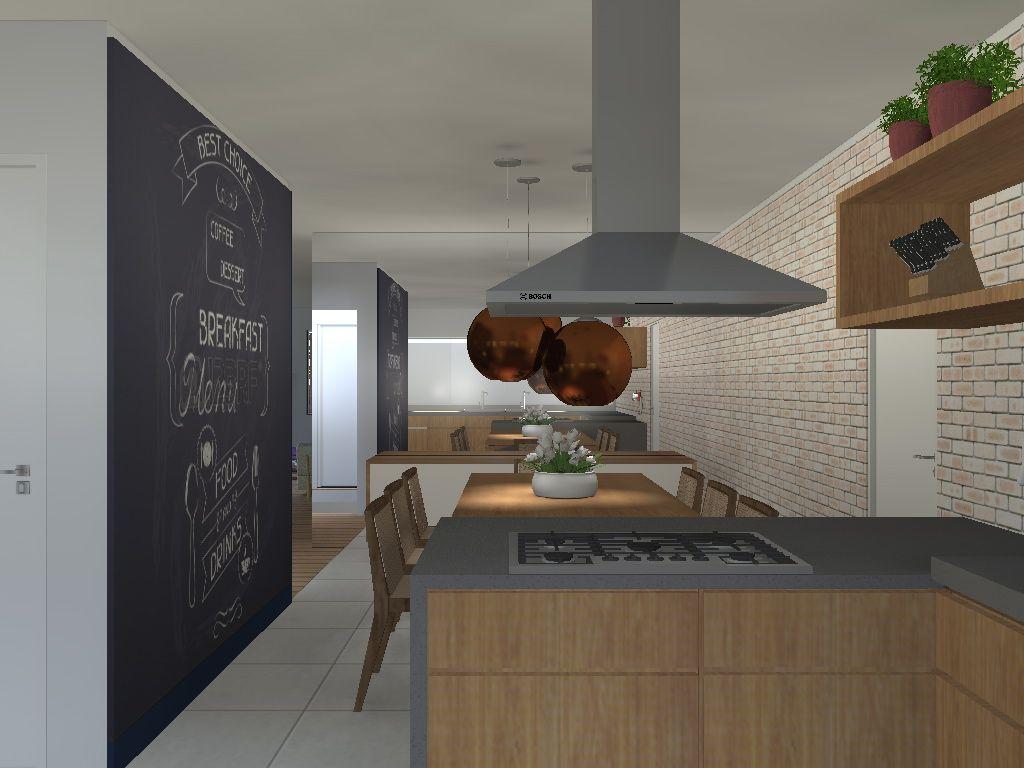Cozinha Gourmet – arquiteta Flávia Araújo