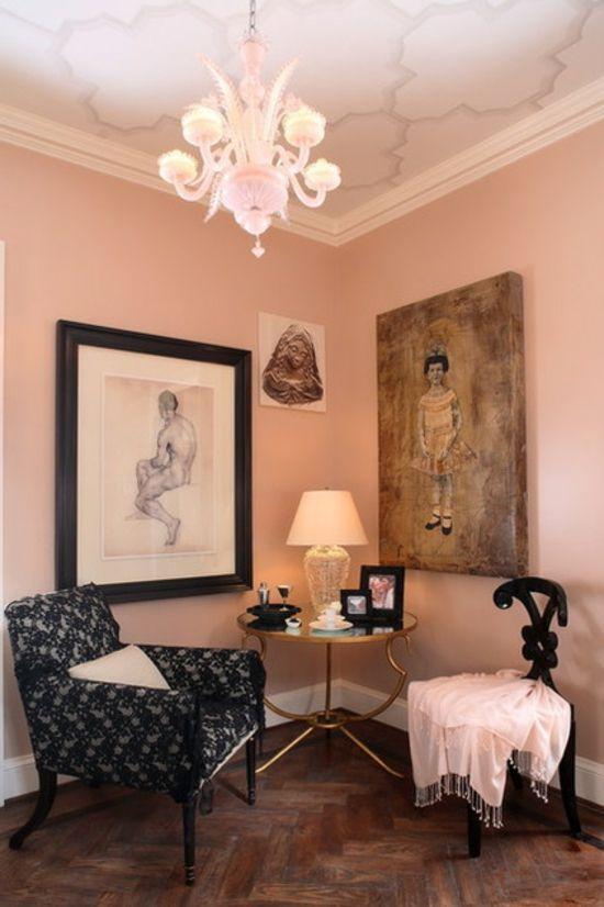 Farbgestaltung Und Bunte Wohnideen   Rosa Im Einsatz | Schöner Wohnen |  Pinterest | Farbgestaltung, Rosa Wohnzimmer Und Rosa