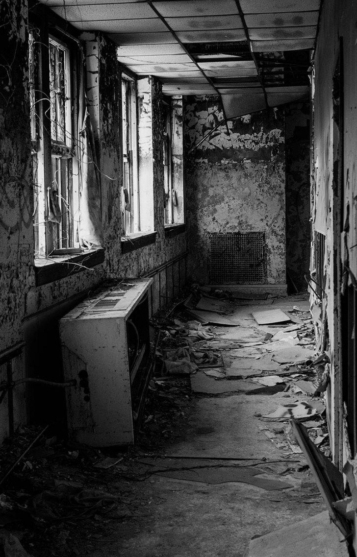 Letchworth closed it's doors in 1986. Hospital for the 'Feeble minded and Epileptics'