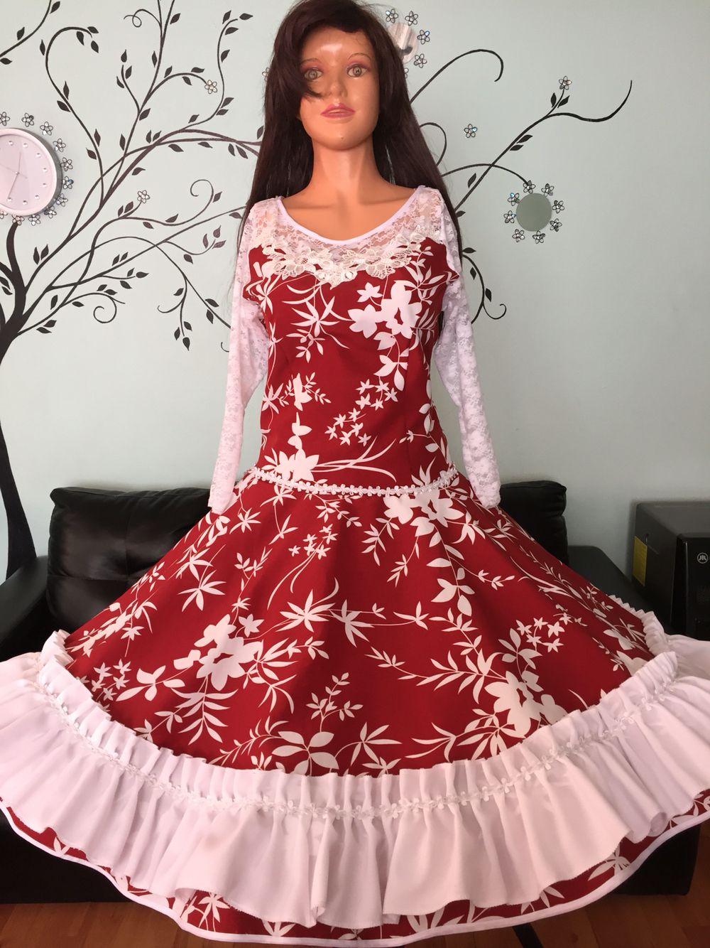Pin de Creaciones Carolin en Vestidos huasa chilena | Pinterest ...