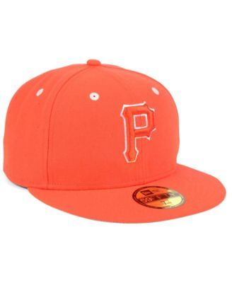 check out 17dbc fc518 New Era Pittsburgh Pirates Pantone Collection 59FIFTY Cap - Orange 7 3 8