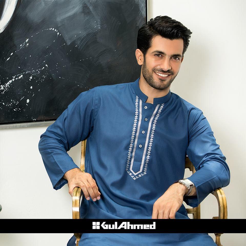Shirt design for man 2016 - Gul Ahmad Men Clothes Shirts Causal Shirt Men Kurta Summer Collection