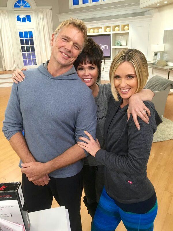John Schneider Marie Osmond Kerstin Lindquist At Qvc With The