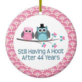 44th Wedding Anniversary 44th Anniversary Owl Wedding Anniversaries Gift Christmas Ornam Wedding Anniversary Quotes 35th Wedding Anniversary Gift Owl Wedding
