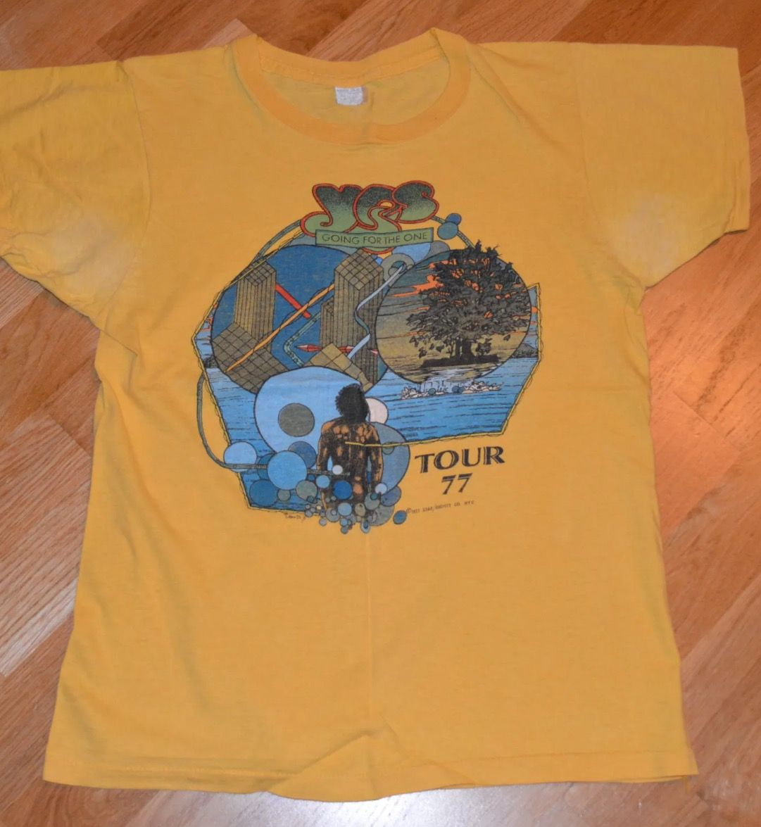 5db6c34899536 Pin by Kool Krap on Vintage Rock Tour T-Shirts | Tour t shirts ...