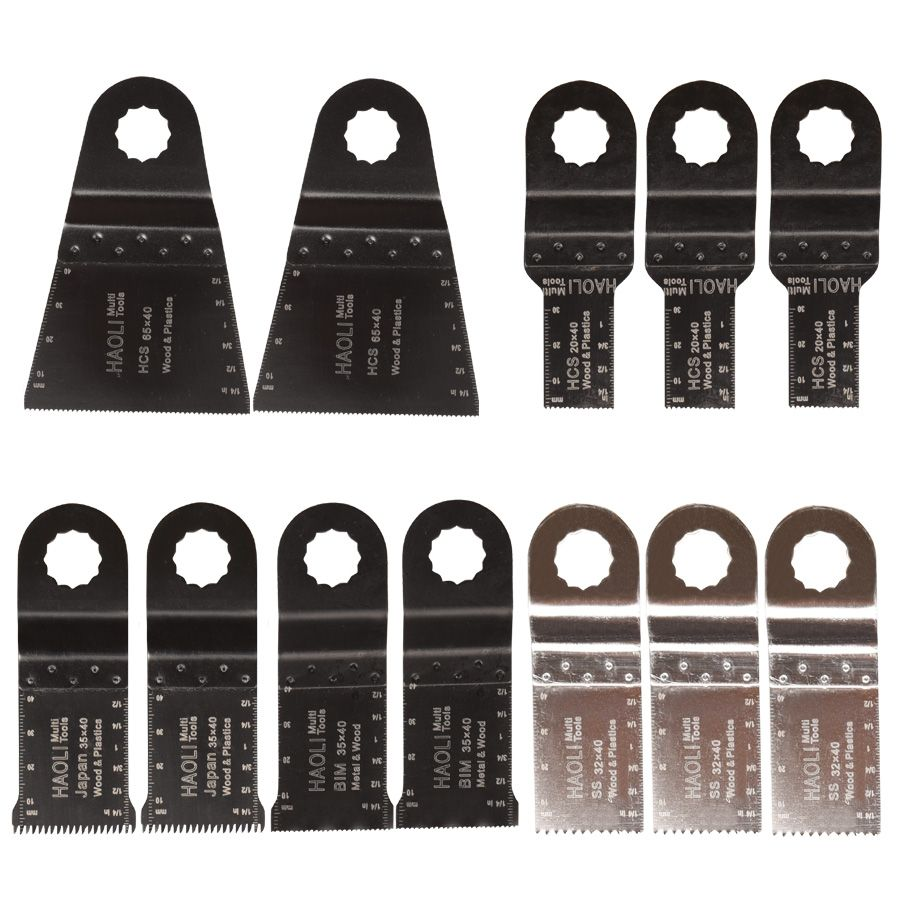 12 pcs/lot oscillating multi tool saw blade for Ridgid AEG worx ...