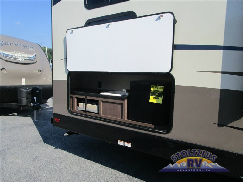 New 2017 Forest River Rv Surveyor 295qble Travel Trailer At