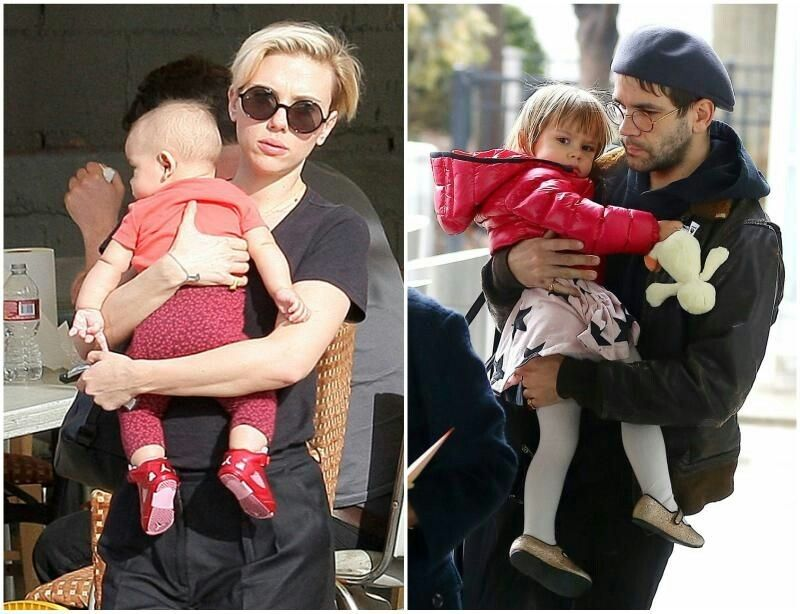 Scarlett Johansson's kid - daughter Rose Dauriac ...