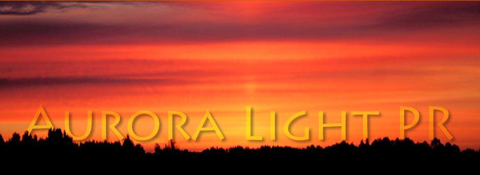 New logo for my client at Aurora Light PR