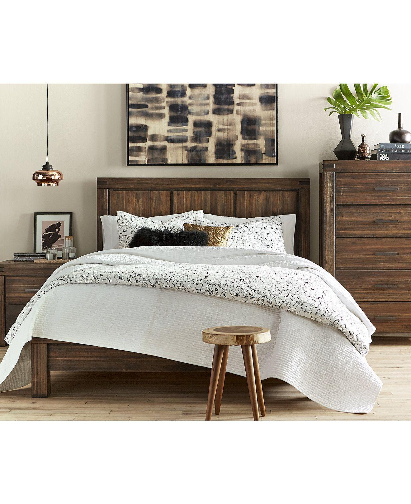 Avondale Platform Bedroom Furniture Collection | Pinterest ...