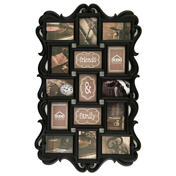 33 X 21-in Distressed Gray Collage Frame | Holiday Gifting Guide ...
