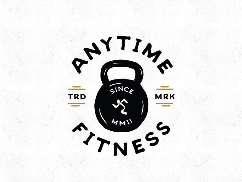 Anytime Fitness Bell Anytime Fitness Fitness Typography Logo