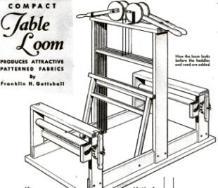 4 Harness Table Loom Plans - Ebay | Loom weaving, Weaving ...
