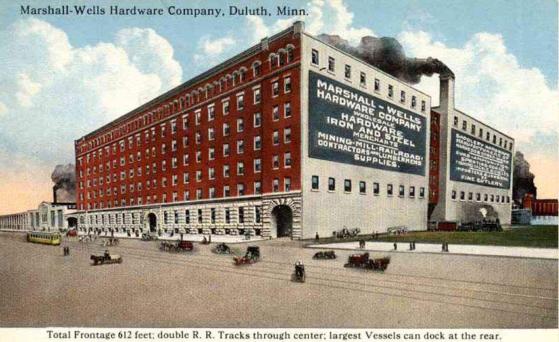 Marshall Wells Hardware Company Duluth Mn Duluth Minnesota Duluth St Paul Minnesota