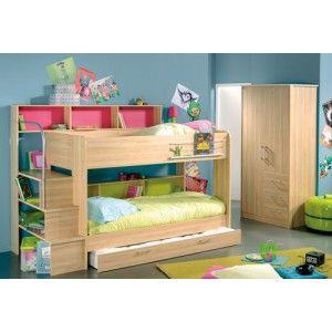 Kurt Bibop Bunk Bed Habitaciones Pequenas Decoracion Para Ninos Habitaciones Juveniles