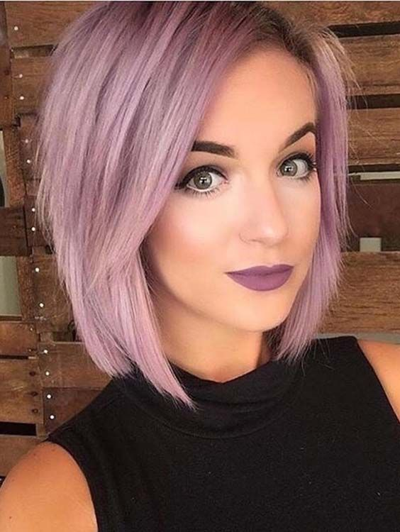 46 Pretty Pink Short Bob Haircuts To Sport In 2018 Hair