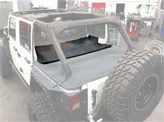 Smittybilt Jeep Wrangler Tonneau Cover Extension Black Diamond 761435 07 18 Jeep Wrangler Jk 4 Door Tonneau Cover Smittybilt Jeep