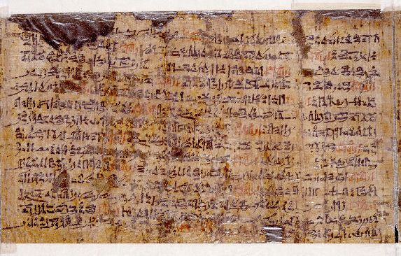 Amazing! Ancient Papyrus written by the Egyptian priest