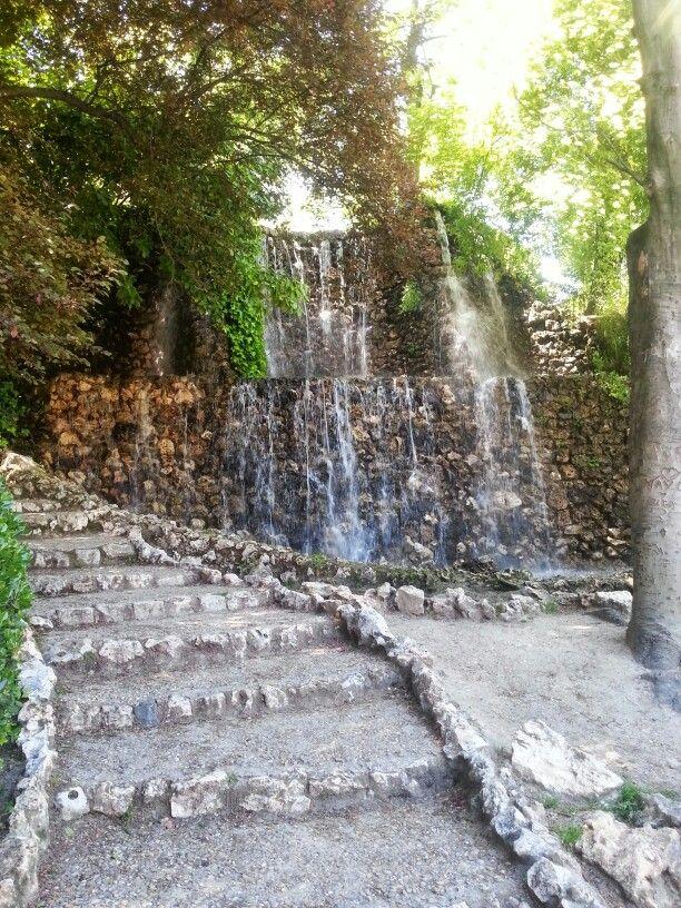 Cascada de Fuente del Berro en Madrid ogród Pinterest Madrid - fuentes de cascada