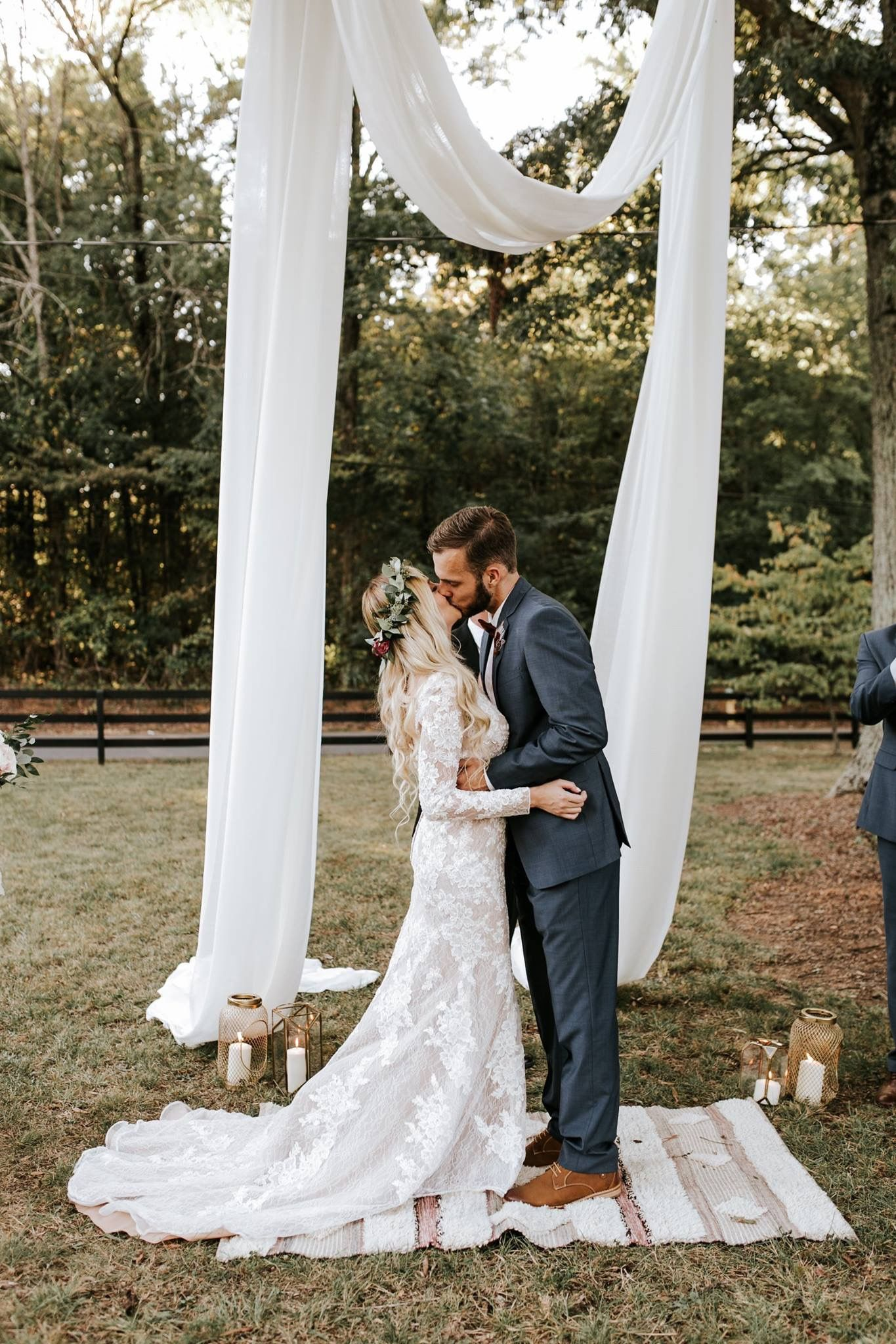 1496632ab97 44 Romantic Bohemian Wedding Dresses To Inspire Your Special Day