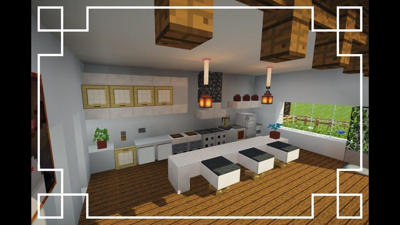 How To Make A Kitchen In Minecraft In 2020 Minecraft Kit