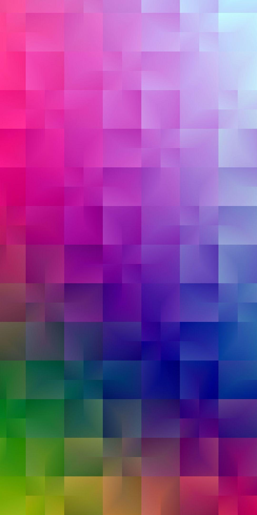 Gradient Colorful Squares 2019 1080x2160 Wallpaper Colorful Wallpaper Apple Wallpaper Rainbow Wallpaper