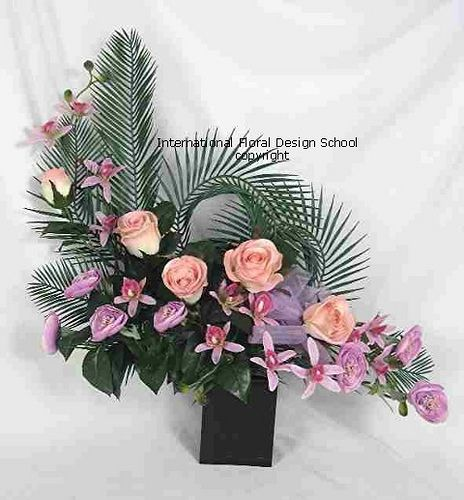 Church Altars Modern Flower Arrangement: Flower Arranging Floristry Modern Flower Arrangement